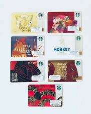 STARBUCKS NEW YEAR PICK Your Card Collections 2013 2014 2015 2016 2017 2018 2019