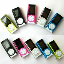 HIPERDEAL Mp3 Player Mini Shiny USB Clip LCD Screen MP3 Media Player Support 16G