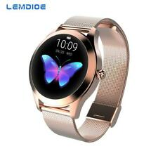 Waterproof Smart Watch Women LED Heart Rate Sleep Android Bluetooth IOS/Android