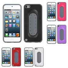 For Apple iPod Touch 5th 6th Gen Hybrid Toungue Kickstand Impact Case Cover