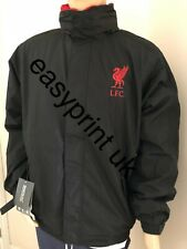 LIVERPOOL FOOTBALL CLUB JACKET / COAT FLEECE LINED WITH EMBROIDERED LOGOS