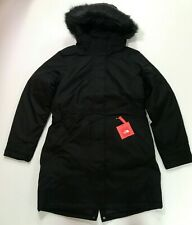 The North Face Women's Arctic Parka TNF Black 550 Down Waterproof New $299
