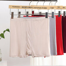 High Quality 100% Pure Silk Knit Men's Underwear Boxer Briefs Size L XL 2XL 3XL