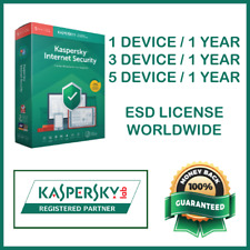 Kaspersky Internet Security Antivirus 2019 | 1 Year Worldwide License | ✅ PROMO