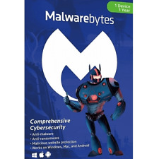 Malwarebytes Premium 2020 Original Box - Original CD and Product Key