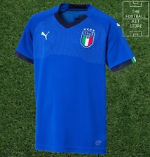 FW14 PUMA ITALY SIZE XL BLUE HOME MATCH SHIRT 21 PIRLO TOP JERSEY WCup ITALIA