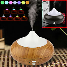 New LED 7 Colour Ultrasonic Aroma Essential Oil Diffuser Air Purifier Humidifier