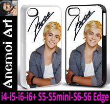 k106 Ross Lynch Signed Autograph Picture Mobile Phone Case i4 i5 i6 + S5 S6 Edge