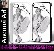 k95 Marilyn Monroe Signed Autograph Picture Phone Cover Case i4 i5 i6 + S5 S6