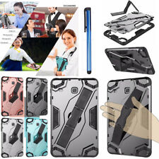 "Heavy Duty Hybrid Stand Handle Case Cover For Samsung Galaxy Tab A E 7.0"" 8.0"""