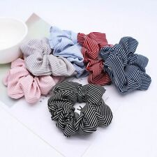 Band Hot Ponytail Holder Hairband Hair Rope Tie Stripe 1 PC Floral Women Girls