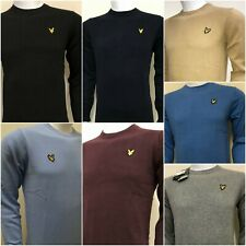 LYLE AND SCOTT LONG SLEEVE CREW NECK & V- NECK JUMPER  FOR MEN - WINTER OFFER
