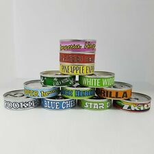 Press it in Cali Cans & Labels, Ring Pull Tuna Tins & Stickers 100ml/3.5g, Cali