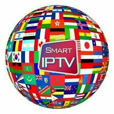 IPTV 1 Year Subscription for 1Device  in USA,CANADA,EUROP,LATINOS,ARAB