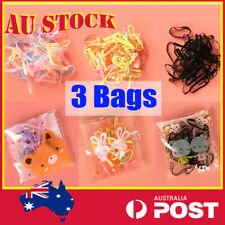 Mini Ponytail Holder Elastic Rubber Band Hair Ties Ropes Rings Candy Kids bands