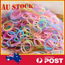 Candy Coloured Mini Ponytail Holder Elastic Rubber Band Hair Ties Ropes Kids