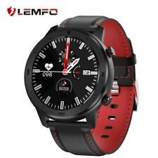 LEMFO Smart Watch Full Touch Screen Heart Rate Blood pressure Monitor IP68 Water