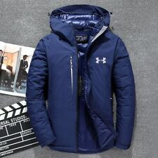 New Men's Under Armour Winter UA Down Hooded High Quality Jacket Down Coat Parka