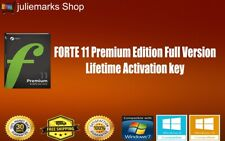 Original License FORTE 11 Premium Edition Full Version Lifetime Activation key