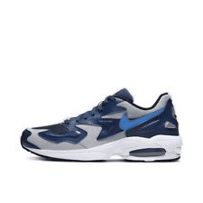Men's Nike Air Max2 Light Running Shoes Midnight Navy/Wolf Grey/White/Mountain B