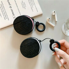 Oreo Cookies Wireless Bluetooth Earphone Case charging box For Apple Airpods