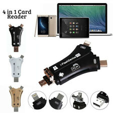 4 In 1 USB OTG To USB 2.0 Adapter SD/Micro SD Card Reader For Smartphones,Tablet