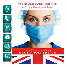 Face Mask Mouth Masks Cover Filter Respirator Air Pollution Protection UK