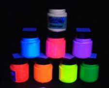 Acrylic Fluorescent UV Blacklight Paint 100ml jar