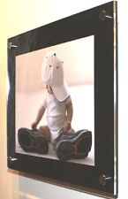 """Acrylic perspex Plexiglas gloss art picture photo frame for 10x8"""" pixi all color"""