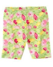 GYMBOREE FAIRY GARDEN GREEN FLORAL BIKE SHORTS 3 4 5 6 7 8 9 10 12 NWT