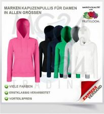 Fruit of the Loom Damen Kapuzenjacke Jacke Kapuzenpulli  Gr. S M L XS M L XL XXL