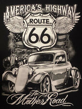 T-Shirt #438 The Mother Road, Hot Rod,  Route 66,  Dragster, US-Cars, Highway