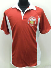 KIDS NEW WALES WELSH GRAND SLAM 2012  WINNERS RUGBY STYLE SHIRT 6 NATIONS CHILDS