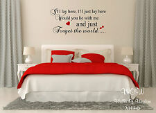 Snow Patrol Lyrics Chasing Cars Wall Sticker Wall Art Home Decor