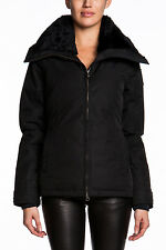NWT Ladies Canada Goose Thompson Duck Down Jacket Black Coat Insulated Fur NEW