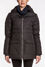 NWT Ladies Large Canada Goose Laurier Parka Jacket Black Coat Insulated hooded