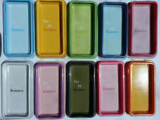 For iPhone 5 Bumper Case TPU Silicone Soft Protective Case for iPhone 5
