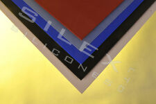 SILICONE RUBBER SHEET 200MM SQUARE 6MM THICK