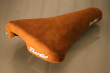 Selle Italia Turbo Saddle | Black Leather Tan Suede or White | Classic Bicycle