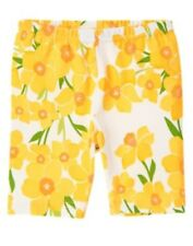 GYMBOREE DAFFODIL GARDEN GROWING DAFFODIL BIKE SHORTS 3 4 5 6 7 8 9 10 NWT