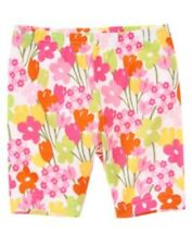 GYMBOREE TEA TIME AFTERNOON MULTI FLORAL BIKE SHORTS 3 4 5 6 7 8 9 10 NWT