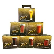 Muntons Gold Real Ale Beer Kits - FULL RANGE - Home Brew Brewing