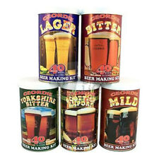 Geordie Beer Making Kits - 40 pints - FULL RANGE - Home Brew Brewing