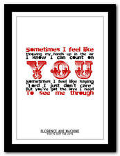 FLORENCE + THE MACHINE - You've Got The Love - poster art print - 4 sizes
