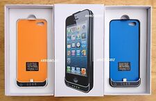 2200mah iPhone 5 External Backup battery charger case cover power station Boxed