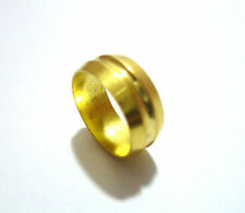 15mm Plumbing Brass Olives Tube Pipe Compression Fitting Olive A