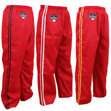 TurnerMAX Poly Cotton Martial arts Karate kung fu kick Boxing Training pant MMA