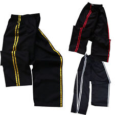 TurnerMAX MMA Martial arts Karate kung fu kick Boxing Training pant Stripe Gel
