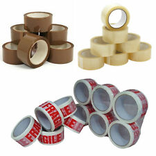 Premium Branded Brown/Clear/Fragile Packaging Tape 36 Rolls 48mmx66m !!