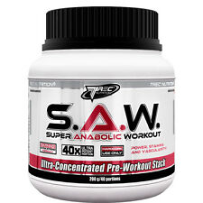 TREC S.A.W. Super Anabolic Workout Strength Muscle Free P&P 10/200/400g